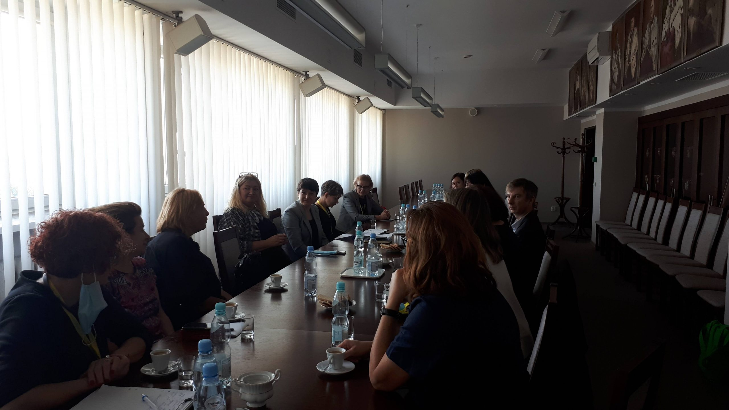 Delegacja z Litwy