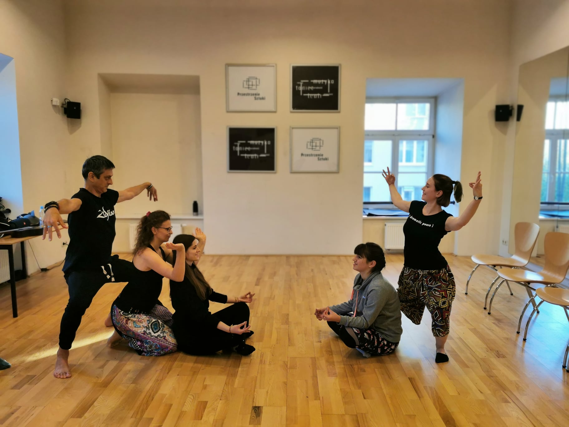 Warsztaty metodą Rytmu Serca Kelly Hunter w Centrum Kultury w Lublinie